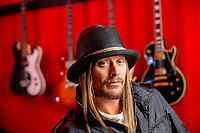 Detroit, MI -- Musician Kid Rock in his home studio north of Detroit, MI. --  Photo by Jack Gruber, USA TODAY