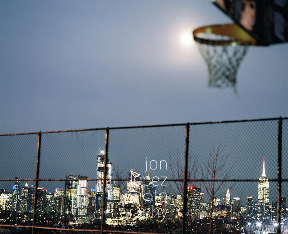 January 2018. Super blue blood moon from Jersey City, NJ. Photo by Jon Lopez.