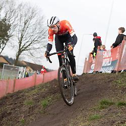 11-01-2020: Wielrennen: NK Veldrijden: Rucphen <br />Emiel Jansman