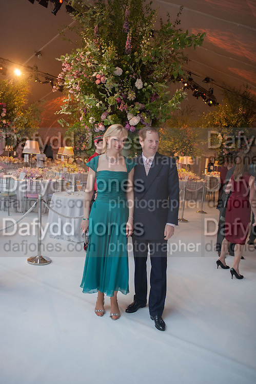 COUNTESS OF DERBY; EARL OF DERBY, CARTIER CHELSEA FLOWER SHOW DINNER Dinner hosted by Cartier in celebration of the Chelsea Flower Show was held at Battersea Power Station. 22 May 2012