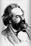 Karl Heinrich Marx (5 May 1818 – 14 March 1883) was a German philosopher, sociologist, economic historian, journalist, and revolutionary socialist. 1858