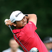 Jason Day, Australia, in action during the third round of theThe Barclays Golf Tournament at The Ridgewood Country Club, Paramus, New Jersey, USA. 23rd August 2014. Photo Tim Clayton