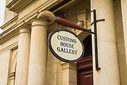 Customs House Gallery, Oamaru, Otago, South Island, New Zealand