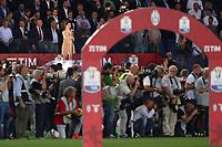 Lodovica Comello canta l'Inno Nazionale  <br /> Roma 17-05-2017 Stadio Olimpico.<br /> Football Calcio Finale Coppa Italia / Italy's Cup Final 2016/2017. Juventus - Lazio<br /> Foto Cesare Purini / Insidefoto