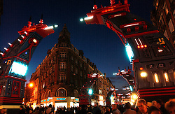LILLE, FRANCE - DEC-6-2003 - Inauguration celebration for the city of Lille as the 2004 European Cultural Capital of Europe. (PHOTO © JOCK FISTICK)