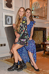 Left to right, Hum Fleming and Sabrina Percy at the Belmond Cadogan Hotel Grand Opening, Sloane Street, London England. 16 May 2019. <br /> <br /> ***For fees please contact us prior to publication***
