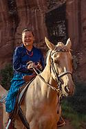 Monument Valley, Navajo Woman, Effie Yazzie, Arizona