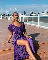 """Leona Lewis releases a photo on Instagram with the following caption: """"Gorgeous \ud83d\udc9c\ud83d\udc9c\ud83d\udc9c\ud83d\udc9c\n@leonalewis \n#pretty#gorgeous#star#stunning#flawless#beautiful#insta#follow#like#comment#leonalewis"""". Photo Credit: Instagram *** No USA Distribution *** For Editorial Use Only *** Not to be Published in Books or Photo Books ***  Please note: Fees charged by the agency are for the agency's services only, and do not, nor are they intended to, convey to the user any ownership of Copyright or License in the material. The agency does not claim any ownership including but not limited to Copyright or License in the attached material. By publishing this material you expressly agree to indemnify and to hold the agency and its directors, shareholders and employees harmless from any loss, claims, damages, demands, expenses (including legal fees), or any causes of action or allegation against the agency arising out of or connected in any way with publication of the material."""