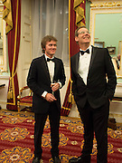 AYDEN PERCY; ANDREW PERCY;  , The National Trust for Scotland Mansion House Dinner. Mansion House, London. 16 October 2013