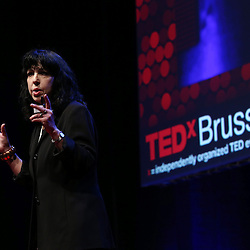 Session I - 28 October 2013<br /> <br /> Diana Reiss , Professor of Psychology at  Hunter College<br /> <br /> TEDX BRUSSELS 2013 - Belgium - Brussels - October 2013 © TEDx Brussels/Scorpix