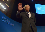 © Licensed to London News Pictures. 09/10/2012. Birmingham, UK Boris Johnson, Mayor of London, on stage to deliver his conference speech, at The Conservative Party Conference at the ICC today 9th October 2012. Photo credit : Stephen Simpson/LNP