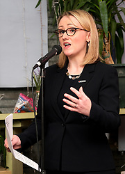 Labour Leadership Contest, 14 February 2020<br /> <br /> Labour Leadership candidate Rebecca Long-Bailey held an event in Glasgow tonight for supporters<br /> <br /> Pictured:  Rebecca Long-Bailey<br /> <br /> Alex Todd   Edinburgh Elite media