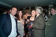 ELLIOT MACDONALD; WHITNEY HINTZ; POLLY MORGAN, Polly Morgan 30th birthday. The Ivy Club. London. 20 January 2010