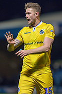 Bristol Rovers defender James Clarke (15) during the EFL Sky Bet League 1 match between Gillingham and Bristol Rovers at the MEMS Priestfield Stadium, Gillingham, England on 12 March 2019.