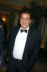 DR HASNAT KHAN a friend of the late Diana, Princess of Wales at the Chain of Hope 10th Anniversary Ball held at The Dorchester, Park Lane, London on 1st November 2005.<br /><br />NON EXCLUSIVE - WORLD RIGHTS