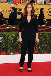 January 25, 2015 - Los Angeles, CA, United States - 25 January 2015 - Los Angeles, California - Julia Roberts. 21st Annual Screen Actors Guild Awards - Arrivals held at The Shrine Auditorium. Photo Credit: Byron Purvis/AdMedia (Credit Image: © Byron Purvis/AdMedia via ZUMA Wire)