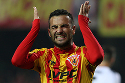 May 25, 2019 - Benevento, Italy - Roberto Insigne (Benevento Calcio) reacts during playoff  the Italian Serie B football Benevento Calcio v Cittadella at stadium Ciro Vigorito in Benevento, Italy on October 24, 2019  (Credit Image: © Paolo Manzo/NurPhoto via ZUMA Press)