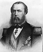 Emperor Maximilian I of Mexico:  Maximilian (1832-1967) was born Archduke Ferdinand Maximilian Joseph of Austria and was proclaimed Emperor of Mexico on 10 April 1864 with the backing of Napoleon III of France. Few foreign government recognised his regime, which was also the case with Mexican liberals.  The ensuing conflict ended with the Emperor's execution.