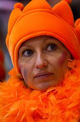 05-01-2003 NED: Europees Kampioenschappen Allround, Heerenveen<br /> Oranje support publiek toeschouwers
