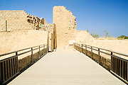 Israel, Caesarea, The Crusader's walls and fortification