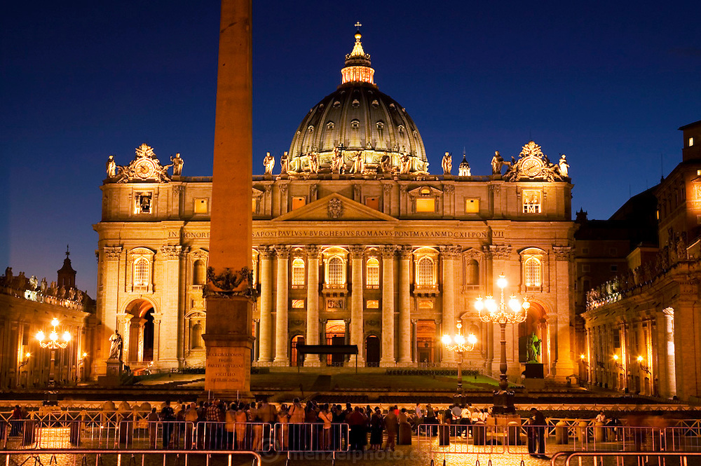 Saint Peter's Basilica, Vatican City. Rome, Italy.