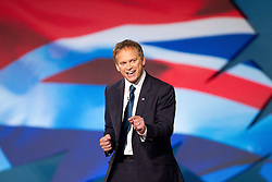© Licensed to London News Pictures. 07/10/2012. Birmingham , UK . Grant Shapps delivers his speech to the conference . Conservative Party Conference Day 1 at the International Convention Centre . Photo credit : Joel Goodman/LNP