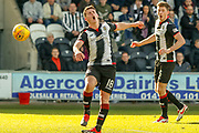 Danny Mullen of St Mirren swings and misses for what could have been his 2nd of the day during the Ladbrokes Scottish Premiership match between St Mirren and Dundee at the Paisley 2021 Stadium, St Mirren, Scotland on 30 March 2019.