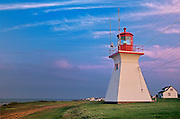 lighthouse<br /> Cap Lumiere<br /> New Brunswick<br /> Canada