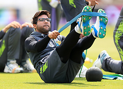 Pakistan's Imam-ul-Haq during the nets session at Trent Bridge, Nottingham.