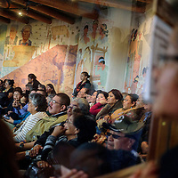 012615  Adron Gardner/Independent<br /> <br /> Visitors pack the seats of the council chambers at the start of the 23rd Navajo Nation Tribal Council opens in Window Rock Monday.