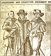 Johan van Oldenbarnevelt, Lord of Berkel en Rodenrijs (1547 – 1619) Dutch statesman who played an important role in the Dutch struggle for independence from Spain. On 23 August 1618, by order of the States-General, Oldenbarnevelt and his chief supporters, Hugo Grotius, Gilles van Ledenberg, Rombout Hogerbeets and Jacob Dircksz de Graeff, were arrested or lost their political positions in government. He was executed in the Hague in May 1619