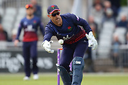 Lancashires Dane Vilas (Capt) during the Royal London 1 Day Cup match between Lancashire County Cricket Club and Derbyshire County Cricket Club at the Emirates, Old Trafford, Manchester, United Kingdom on 2 May 2019.