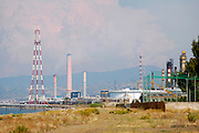 An oil refinery in Milazzo, Sicily, Italy, July 2006
