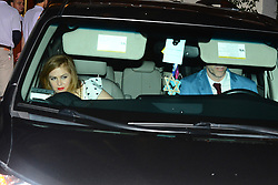 Isla Fisher and Sacha Baron Cohen Leave Jennifer Anistons 50th Birthday Party. 10 Feb 2019 Pictured: Isla Fisher, Sacha Baron Cohen. Photo credit: MEGA TheMegaAgency.com +1 888 505 6342