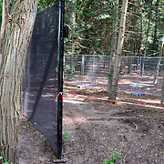 NLD/Lage Vuursche/20070803 - Hekwerk rond paleis kasteel Drakesteyn in Lage Vuursche word vervangen