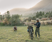 Camping in Namadgud village. <br /> Sights and places to see while walking along the Tajikistan side of the Wakhan Corridor.