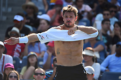 Stan Wawrinka (SWI) during his practice at the 2019 US Open at Billie Jean National Tennis Center in New York City, NY, USA, on August 24, 2019. Photo by Corinne Dubreuil/ABACAPRESS.COM