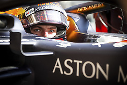 February 18, 2019 - Barcelona, Spain - VERSTAPPEN Max (ned), Aston Martin Red Bull Racing Honda RB15, portrait during Formula 1 winter tests from February 18 to 21, 2019 at Barcelona, Spain - Photo Motorsports: FIA Formula One World Championship 2019, Test in Barcelona, (Credit Image: © Hoch Zwei via ZUMA Wire)