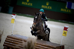 Johner Melody, SUI, Frimeur du Record CH<br /> Cross Indoor presented by Rolex<br /> CHI de Genève 2016<br /> © Hippo Foto - Dirk Caremans<br /> 10/12/2016