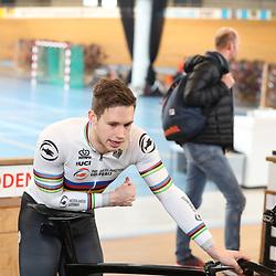 19-02-2020: Wielrennen: persmoment KNWU: Alkmaar <br />Harry Lavreijsen