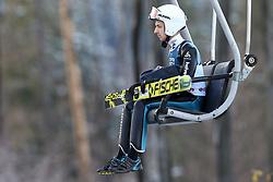 November 19, 2017 - Wisla, Poland - Simon Ammann (SUI), competes in the individual competition during the FIS Ski Jumping World Cup on November 19, 2017 in Wisla, Poland. (Credit Image: © Foto Olimpik/NurPhoto via ZUMA Press)