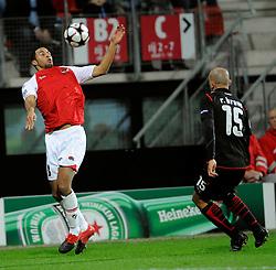 25-11-2009 VOETBAL: AZ - OLYNPIACOS<br /> Door het gelijke spel 0-0 in AZ uitgeschakeld in de Champions League / Moussa Dembele<br /> ©2009-WWW.FOTOHOOGENDOORN.NL