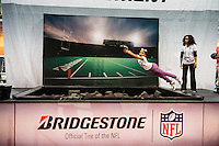 Bridgestone Tires activation for the NFL
