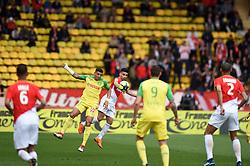 April 7, 2018 - Monaco, France - 09 RADAMEL FALCAO (ASM) - 03 DIEGO CARLOS  (Credit Image: © Panoramic via ZUMA Press)