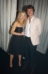 NATALIE PRESS and HUGH DANCY at the 2006 Glamour Women of the Year Awards 2006 held in Berkeley Square Gardens, London W1 on 6th June 2006.<br />