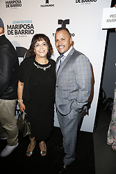 LOS ANGELES, CA - JUNE 26: Rosa Rivera arrives for the Screening Of Telemundo's 'Jenni Rivera: Mariposa De Barrio' at The GRAMMY Museum on June 26, 2017 in Los Angeles, California. Byline, credit, TV usage, web usage or linkback must read SILVEXPHOTO.COM. Failure to byline correctly will incur double the agreed fee. Tel: +1 714 504 6870.