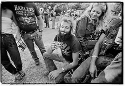 Stoned. Lake Perry, KS. 1984<br /> <br /> Limited Edition Print from an edition of 15. Photo ©1984 Michael Lichter.