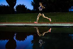 Klara Lukan competes in 5000m Run during day one of the 2020 Slovenian Cup in ZAK Stadium on July 4, 2020 in Ljubljana, Slovenia. Photo by Grega Valancic / Sportida
