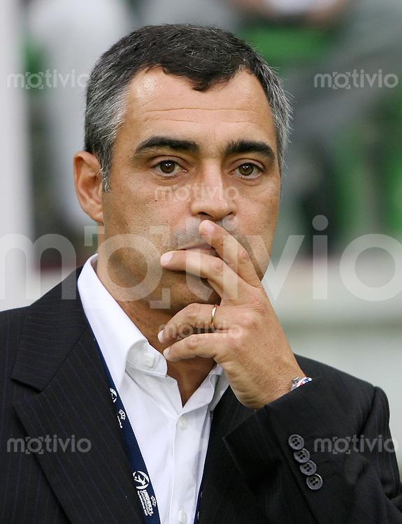 Fussball   International   U21-Europameisterschaft Trainer Jose Julio MARTINS COUCEIRO (POR)