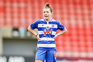 Reading midfielder Angharad James (6) during the FA Women's Super League match between Manchester United Women and Reading LFC at Leigh Sports Village, Leigh, United Kingdom on 7 February 2021.